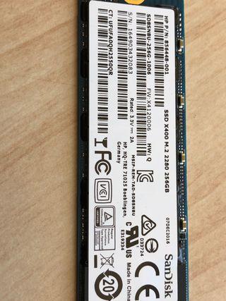 Disco duro ssd M2 256gb SanDisk