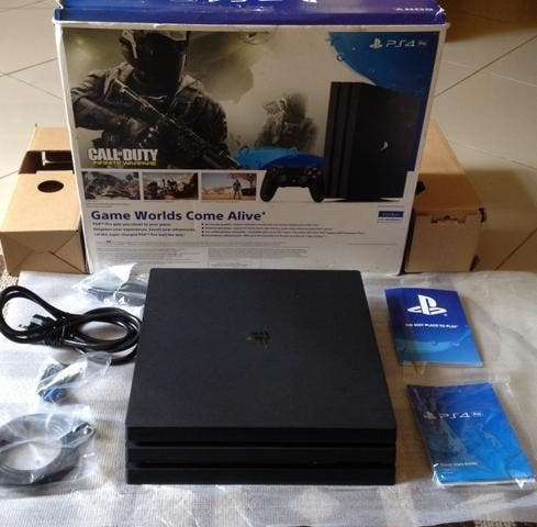 Ps4 pro brand new 1tb memory boxed