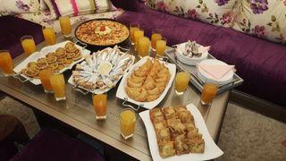 Comida muy rica para los compleaños y fiestas