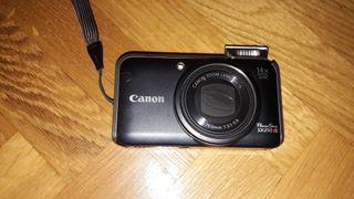 Cámara de fotos Canon PowerShot SX210 IS