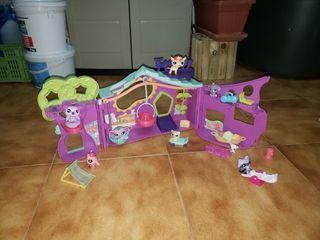 Casa de los petshop