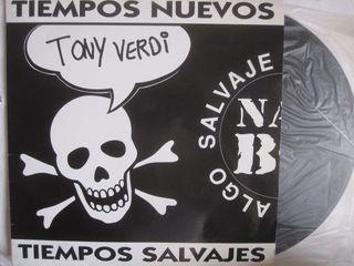 vinilo disco tiempos nuevos salvajes tony verdi 93