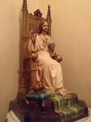 Sagrado Corazón de Jesús - Figura