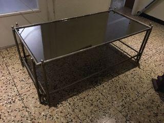 Mesa baja para salon con Espejo