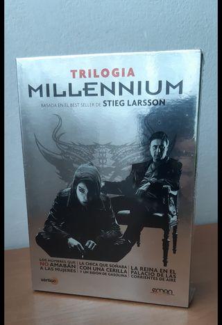 Millenium. La trilogía (DVD).