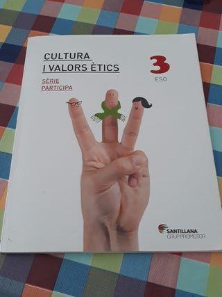 Llibre de institut Cultura i Valors Étics 3 ESO