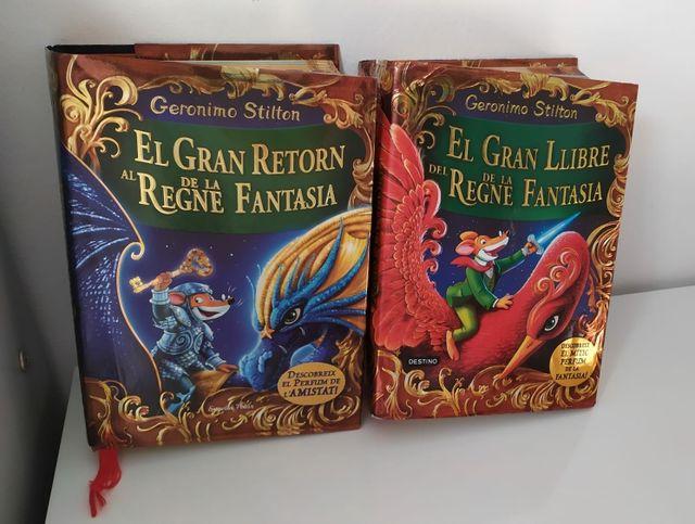 Libros Gerónimo Stilton - El règne de la fantasia