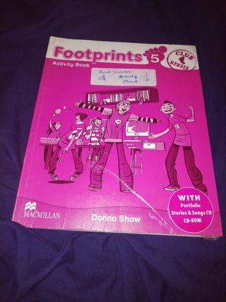 libro de ingles activity book 5 primaria