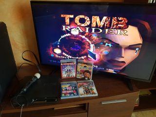 PS3 125GB + 7 juegos