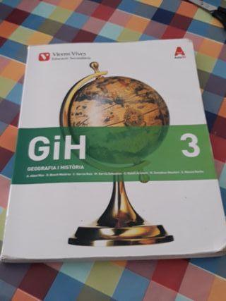 Llibre de institut Geografia i Història 3 ESO
