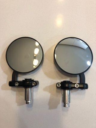 Espejos Retovisores puño Scrambler