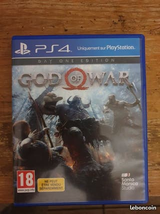 God of War ( Day One Edition ) PS4