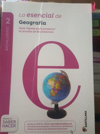 Libro lo esencial de la Geografia