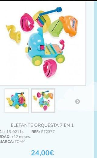 elefante orquesta 7 en 1 nuevo