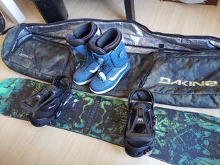 Equipo completo de Snowboard Burton!!