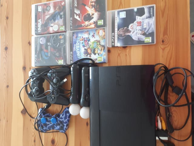 lote PlayStation 3