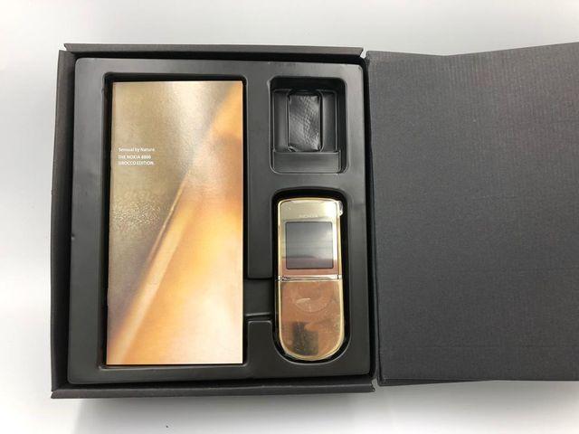Nokia 8800 Sirocco Gold Edition