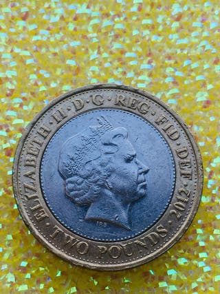 2 pound coin Olympic Games handover London to Rio