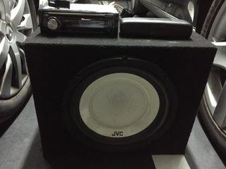 Equipo audio coche completo,radiocd,sub,medios...