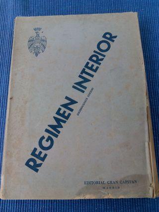 Libro - Régimen Interior Ejército - 1951