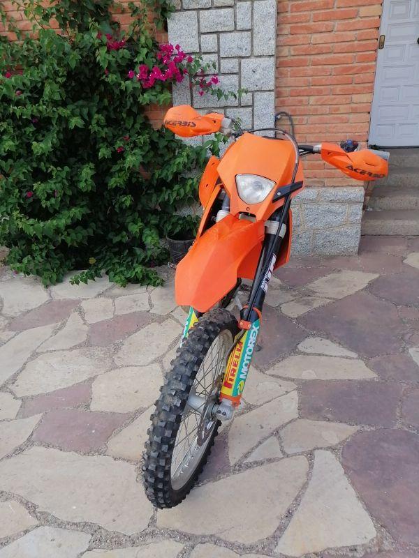 ktm exc 125 (2006)