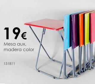19 De Segunda Por Mano En Supletorias Plegables Mesas Colores € nPOkwXN80Z