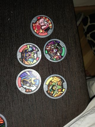 cambio medallas de yokai watch