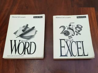 MANUALES MICROSOFT OFFICE WORD Y EXCEL