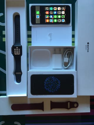 Iphone 6 32 GB apple watch serie 3
