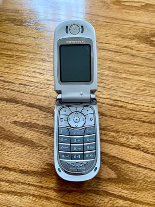 Motorola V600 - Aston Martin (Limited Edition)