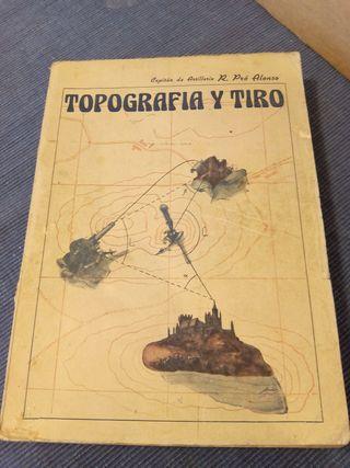 Libro - Topografía y Tiro - 1946