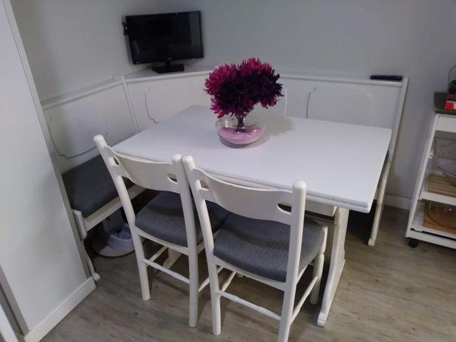 Rinconera de cocina mesa y sillas de segunda mano por 250 ...