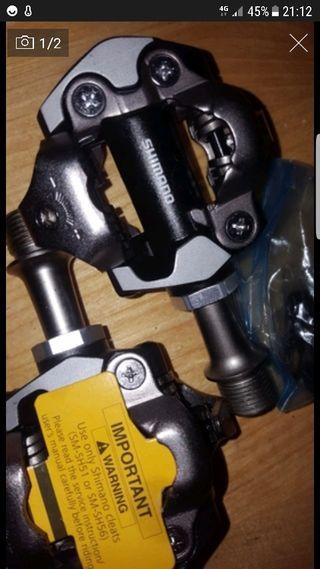 pedales automaticos shimano xt