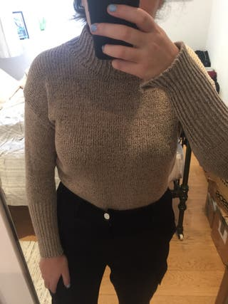 Beige Pullover Sweater