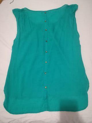 Blusa verde 38