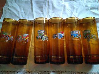 juego vasos de tubo coleccion