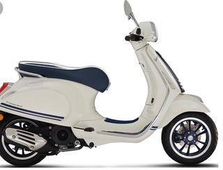 Vespa blanca 49