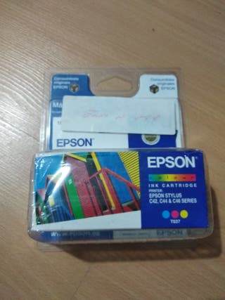 Cartucho EPSON T037 color