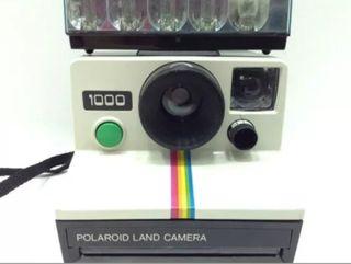 cámara vintage Polaroid