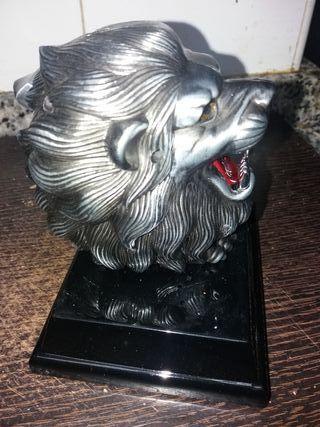 encendedor electrico de leon