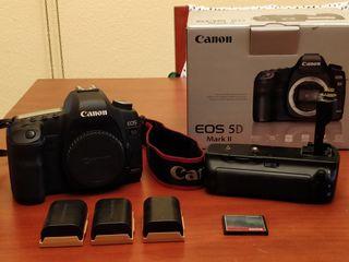 Canon 5D II y accesorios