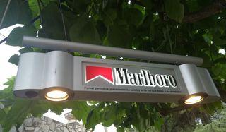 Cartel luminoso Marlboro