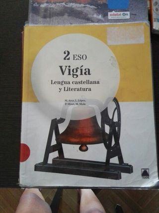 libro de texto lengua 2 de la eso