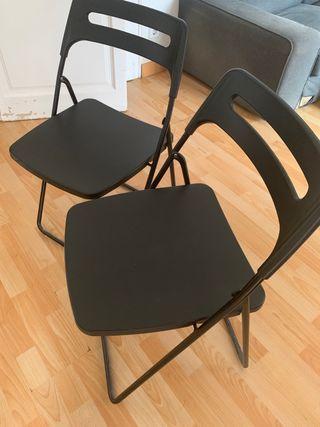 10 Ikea Segunda € En Dos Sillas Por Nisse Mano Plegables De Nnwm80v