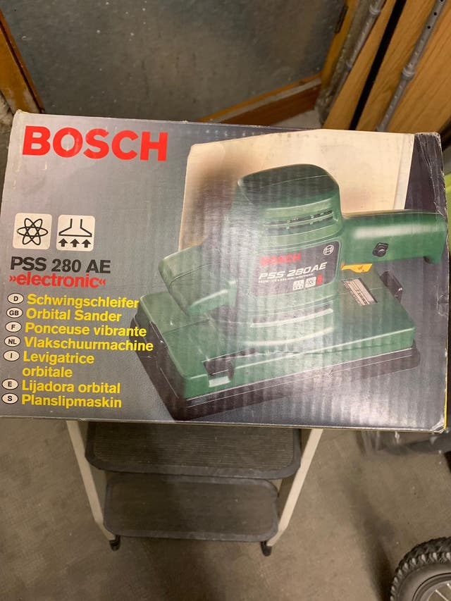 Lijadora orbital Bosch PSS 280 AE