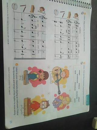 Música + activity book 4 primaria