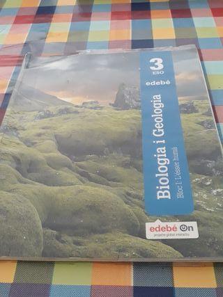 Llibre d'insti Biologia i Geologia 3 ESO Bloc 1