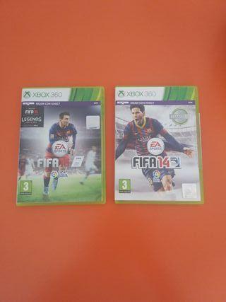 LOTE FIFA 14 y FIFA 16