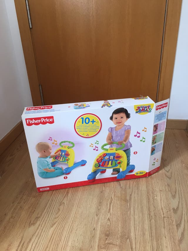 Andador correpasillos bebé