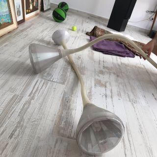 2 Lámparas de techo de diseño